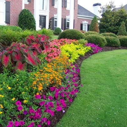 Flower Bed Planting Services In Maine